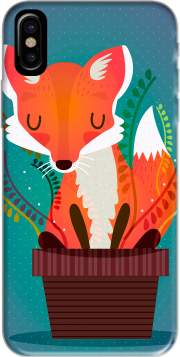 Fox in the pot Iphone X / Iphone XS Case