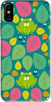 Frogs and leaves Iphone X / Iphone XS Case