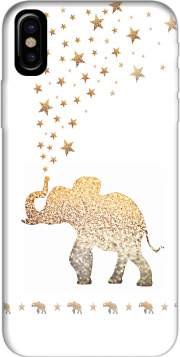 Gatsby Gold Glitter Elephant Case for Iphone X / Iphone XS
