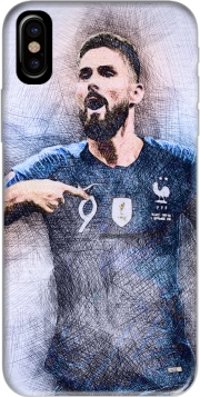 Giroud The French Striker Iphone X / Iphone XS Case