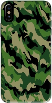 Green Military camouflage Case for Iphone X / Iphone XS