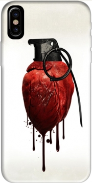 Heart Grenade Case for Iphone X / Iphone XS