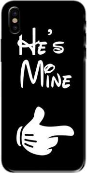 he's Mine - in love Case for Iphone X / Iphone XS