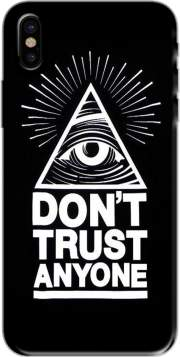 Illuminati Dont trust anyone Case for Iphone X / Iphone XS