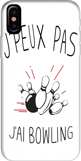 Case Je peux pas jai Bowling for Iphone X / Iphone XS