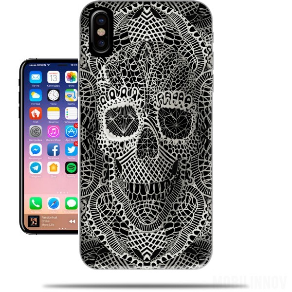 Case Lace Skull for Iphone X / Iphone XS