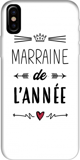 Marraine de lannee Iphone X / Iphone XS Case