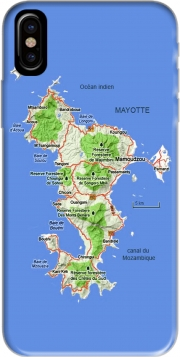 Mayotte Carte 976 Iphone X / Iphone XS Case