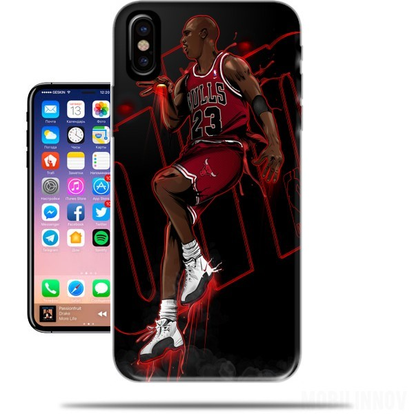 big sale 0befe 38661 Michael Jordan case for Iphone X / Iphone XS