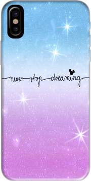 Never Stop dreaming Case for Iphone X / Iphone XS