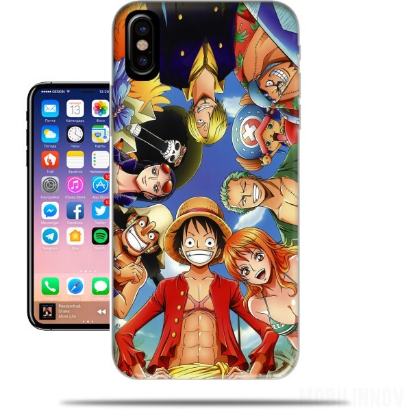 Case One Piece CREW for Iphone X / Iphone XS