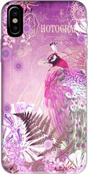 PINK PEACOCK Case for Iphone X / Iphone XS