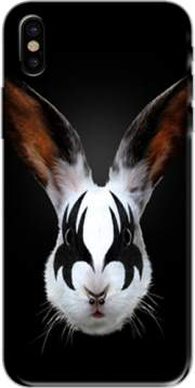 Kiss of a rabbit punk Case for Iphone X / Iphone XS