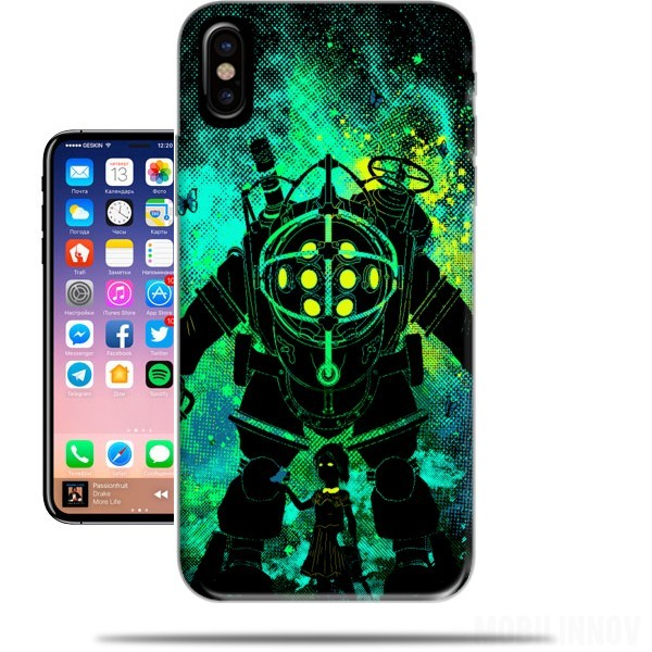 Case Rapture Art for Iphone X / Iphone XS