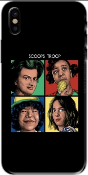 Scoops Troop Stranger Things Iphone X / Iphone XS Case