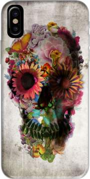 Skull Flowers Gardening Case for Iphone X / Iphone XS