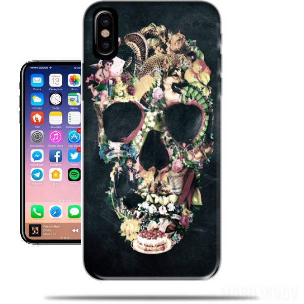 Case Skull Vintage for Iphone X / Iphone XS