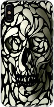 Skull Zebra White And Black Case for Iphone X / Iphone XS