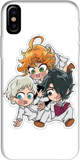 Case The Promised Neverland Emma Ray Norman Chibi for Iphone X / Iphone XS