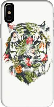 Tropical Tiger Case for Iphone X / Iphone XS