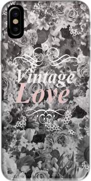Vintage love in black and white Case for Iphone X / Iphone XS