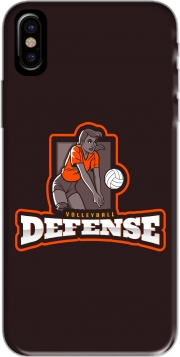 Volleyball Defense Iphone X / Iphone XS Case