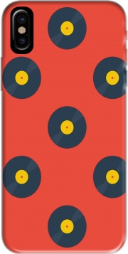 Vynile Music Disco Pattern Iphone X / Iphone XS Case