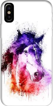 watercolor horse Case for Iphone X / Iphone XS