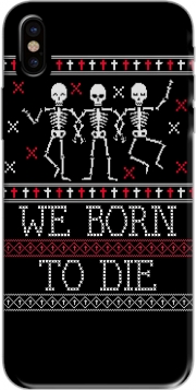 We born to die Ugly Halloween Iphone X / Iphone XS Case