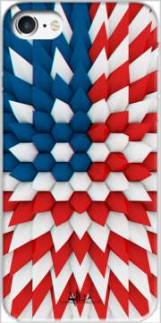 3D Poly USA flag Case for Iphone 7 / Iphone 8