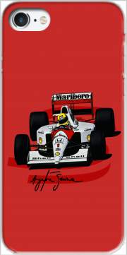 Ayrton Senna Formule 1 King Case for Iphone 7 / Iphone 8