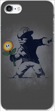 Banksy Flower bomb Case for Iphone 7 / Iphone 8