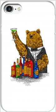 Bartender Bear for Iphone 7 / Iphone 8