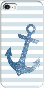 Blue Glitter Mariniere Case for Iphone 7 / Iphone 8