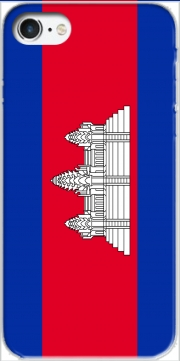 Cambodge Flag Iphone 7 / Iphone 8 Case