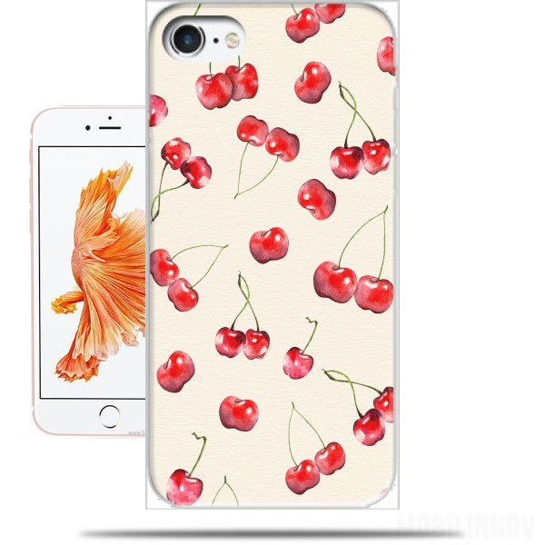 Case Cherry Pattern for Iphone 7 / Iphone 8