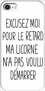 Excusez moi pour le retard ma licorne na pas voulu demarrer Case for Iphone 7 / Iphone 8