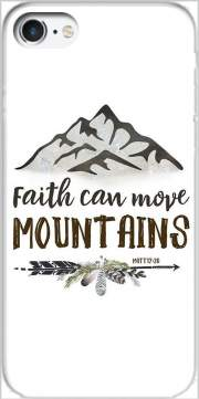 Faith can move montains Matt 17v20 Bible Blessed Art Case for Iphone 7 / Iphone 8