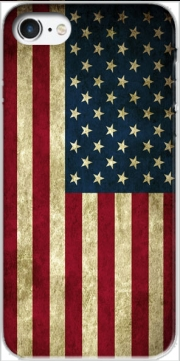 Flag USA Vintage Case for Iphone 7 / Iphone 8