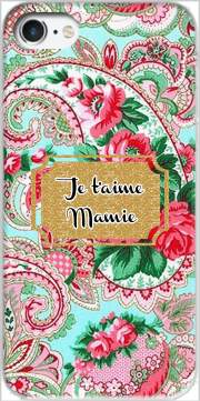 Floral Old Tissue - Je t'aime Mamie Case for Iphone 7 / Iphone 8