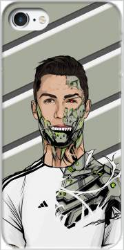 Football Legends: Cristiano Ronaldo - Real Madrid Robot Case for Iphone 7 / Iphone 8