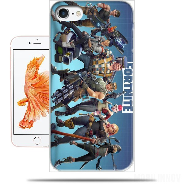 Case Fortnite Characters with Guns for Iphone 7 / Iphone 8