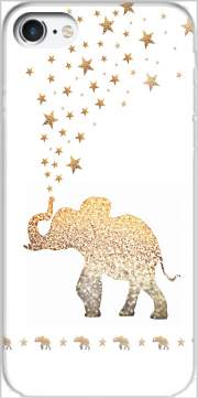 Gatsby Gold Glitter Elephant Case for Iphone 7 / Iphone 8