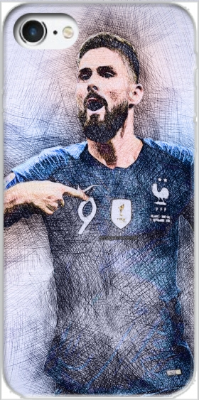 Case Giroud The French Striker for Iphone 7 / Iphone 8