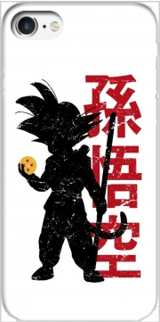 Goku silouette Iphone 7 / Iphone 8 Case