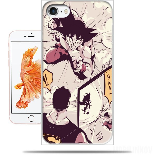 Case Goku vs superman for Iphone 7 / Iphone 8