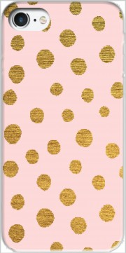 Golden Dots And Pink Case for Iphone 7 / Iphone 8
