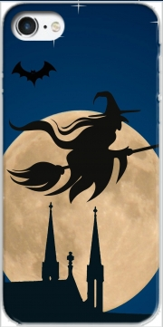Halloween Moon Background Witch Iphone 7 / Iphone 8 Case