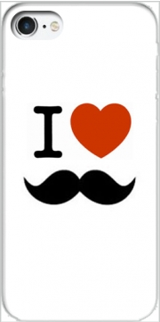 I love Moustache Case for Iphone 7 / Iphone 8