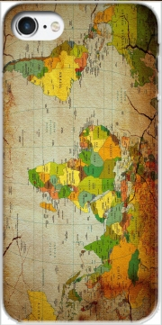 World Map Case for Iphone 7 / Iphone 8